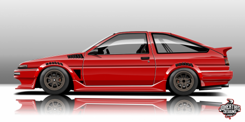 Red Ae86